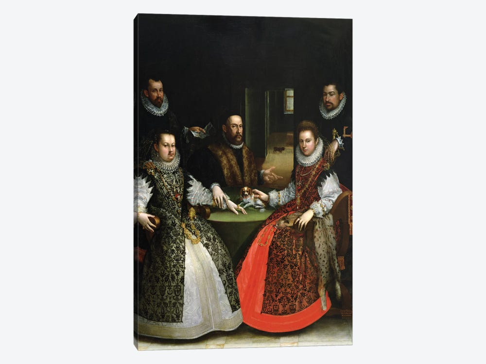 The Gozzadini Family by Lavinia Fontana 1-piece Canvas Print
