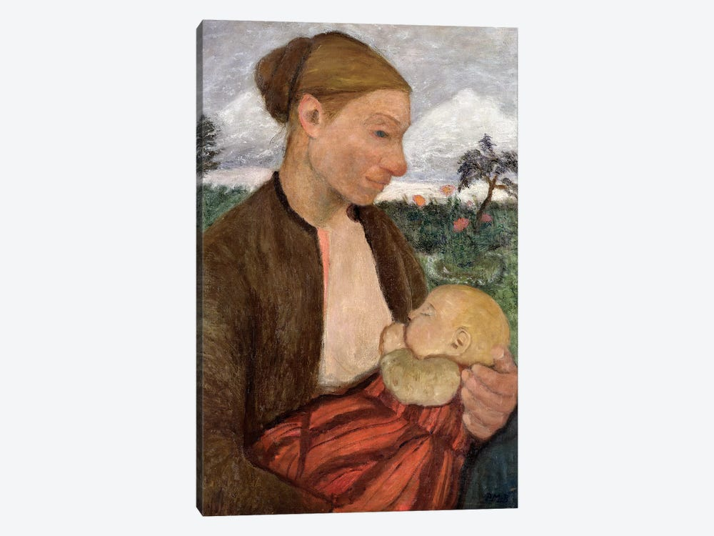 Mother And Child, 1903 1-piece Canvas Art Print