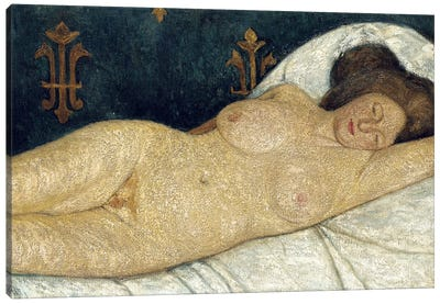 Reclining Female Nude, 1905-06 Canvas Art Print