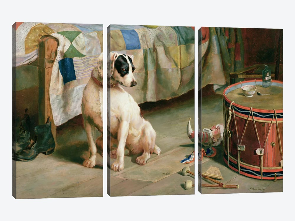 Hide and Seek  by Arthur Charles Dodd 3-piece Canvas Wall Art
