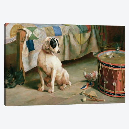 Hide and Seek  3-Piece Canvas #BMN764} by Arthur Charles Dodd Canvas Art