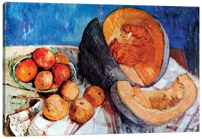 Still Life With Melon, 1905 Canvas Art Print
