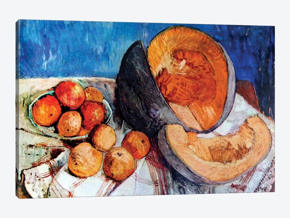 Still Life With Melon, 1905 by Paula Modersohn-Becker 1-piece Canvas Print