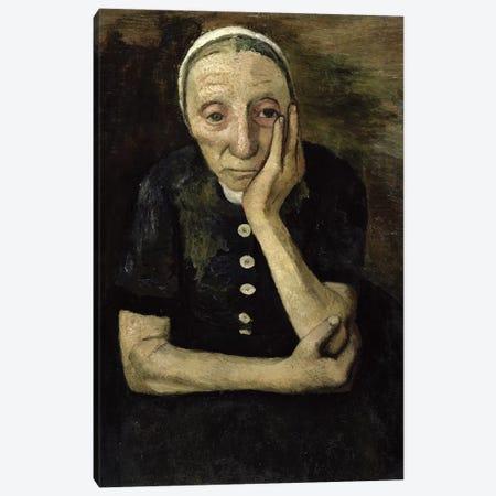 The Old Farmer, 1903 Canvas Print #BMN7652} by Paula Modersohn-Becker Art Print