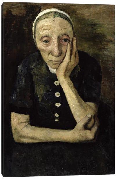 The Old Farmer, 1903 Canvas Art Print