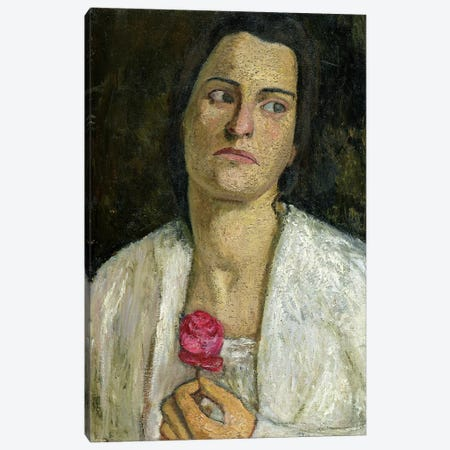 The Sculptress Clara Rilke-Westhoff, 1905 Canvas Print #BMN7653} by Paula Modersohn-Becker Art Print