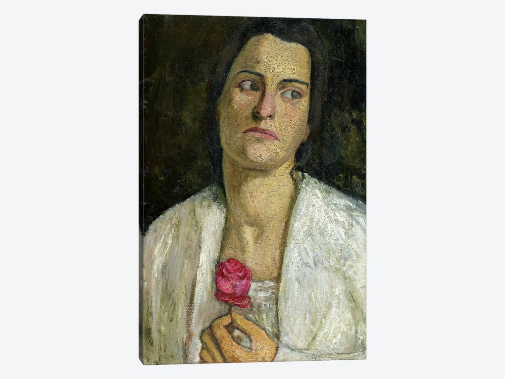 The Sculptress Clara Rilke-Westhoff, 1905 1-piece Canvas Print
