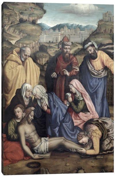 Lamentation, 1550 Canvas Art Print