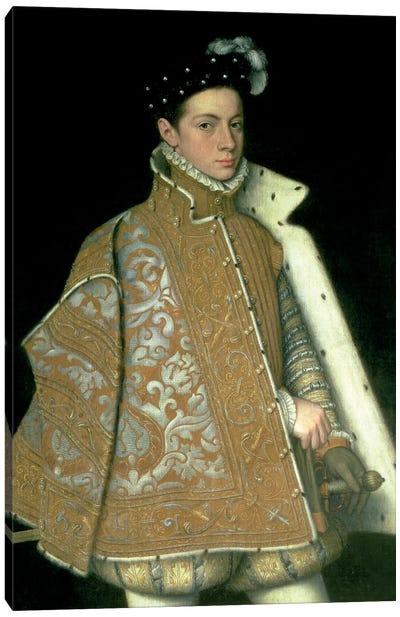 Alessandro Farnese, Son Of Margaret Of Parma And Ottavio Farnese (Duke Of Parma), c.1561 Canvas Art Print