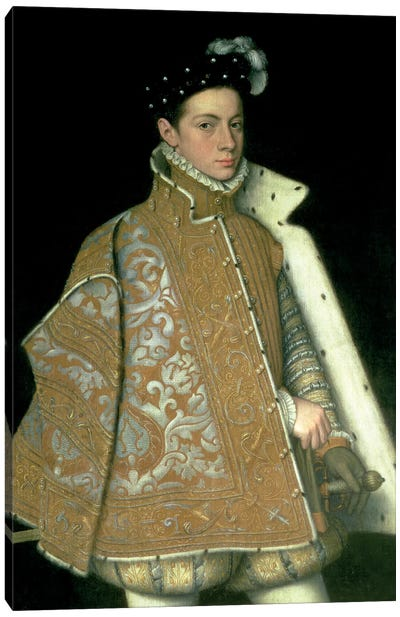 Alessandro Farnese, Son Of Margaret Of Parma And Ottavio Farnese (Duke Of Parma), c.1561 Canvas Art Print