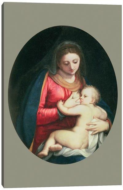 Madonna And Child, 1598 Canvas Art Print