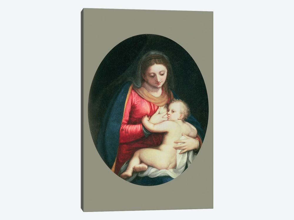 Madonna And Child, 1598 by Sofonisba Anguissola 1-piece Canvas Wall Art