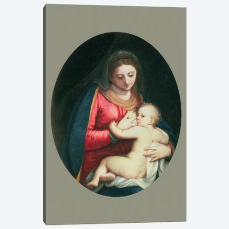 Madonna And Child, 1598 Canvas Print #BMN7670} by Sofonisba Anguissola Art Print