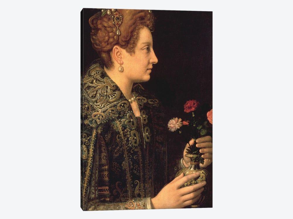 Portrait Of A Woman by Sofonisba Anguissola 1-piece Canvas Artwork