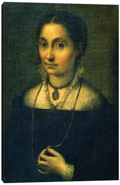 Portrait Of Elena Canvas Art Print