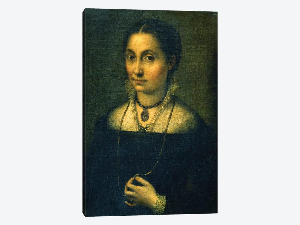Portrait Of Elena 1-piece Canvas Print