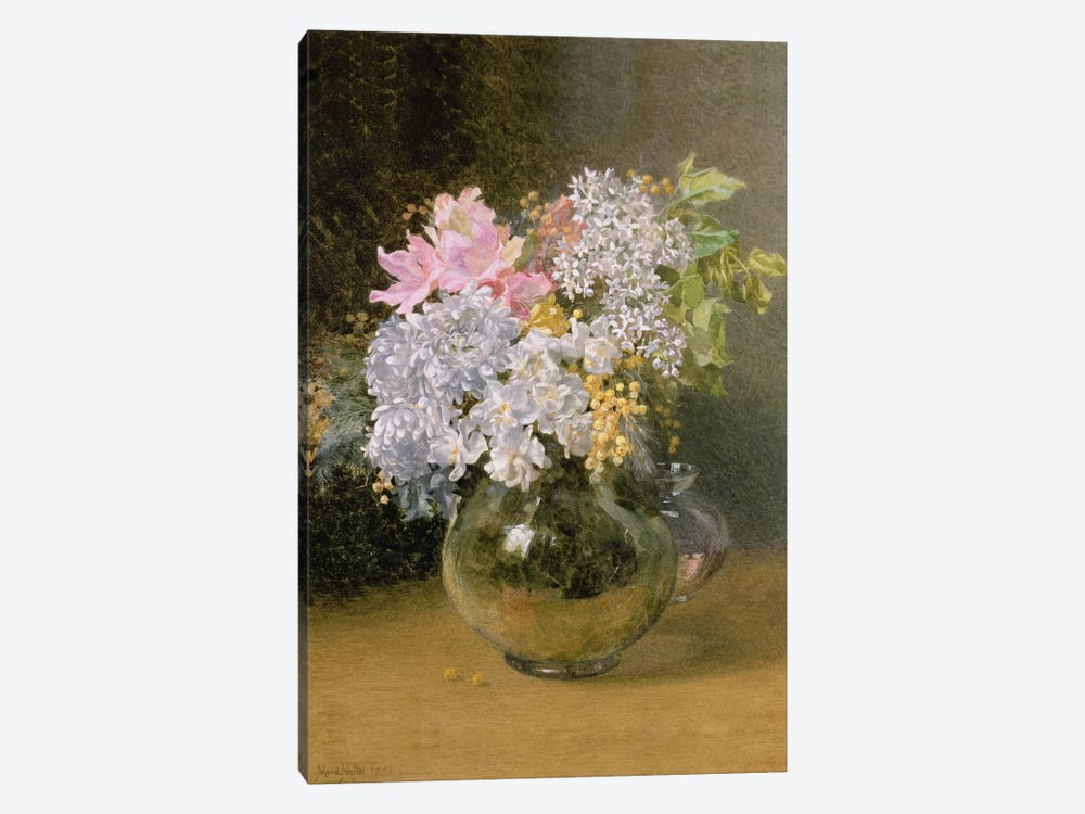 Spring Flowers in a Vase by Maud Naftel 1-piece Art Print
