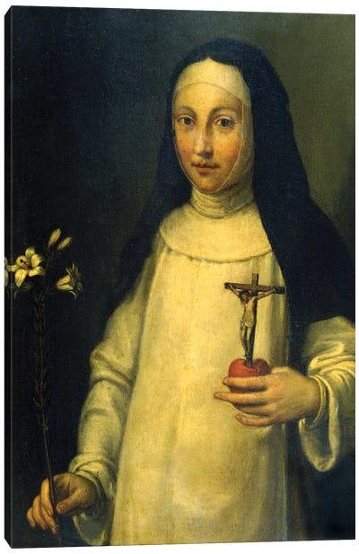 Saint Lucy (Santa Lucia) Canvas Art Print