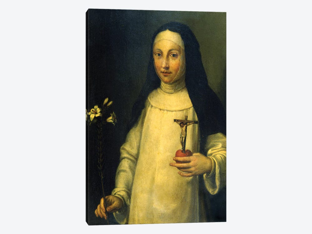 Saint Lucy (Santa Lucia) by Sofonisba Anguissola 1-piece Canvas Wall Art