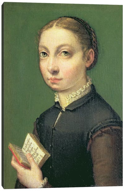 Self Portrait, 1554 Canvas Art Print