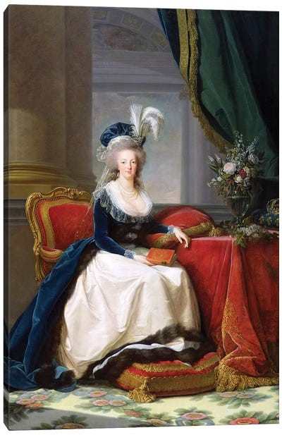 Marie Antoinette, 1788 Canvas Art Print