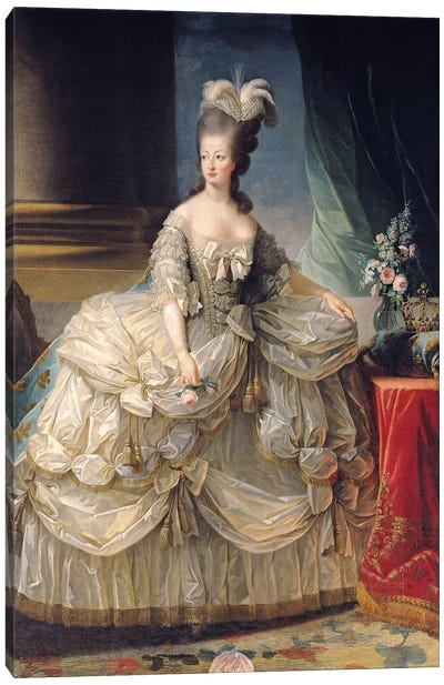 Marie Antoinette, Queen Of France, 1779 Canvas Art Print
