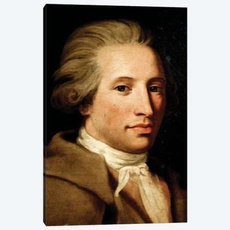 Portrait Of Antonio Maria Gaspare Sacchini Canvas Print #BMN7696} by Elisabeth Louise Vigee Le Brun Canvas Art