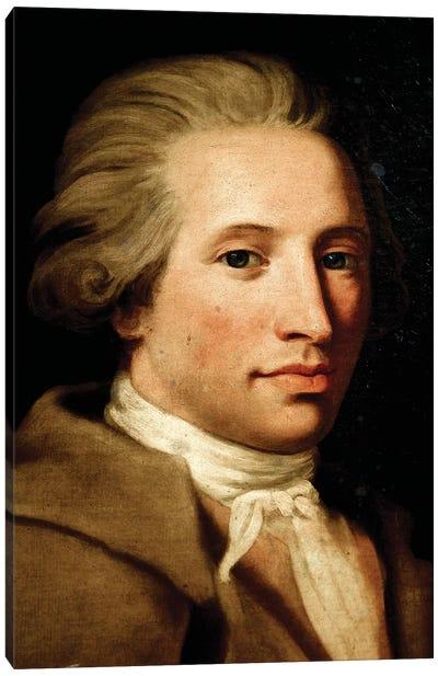 Portrait Of Antonio Maria Gaspare Sacchini Canvas Art Print