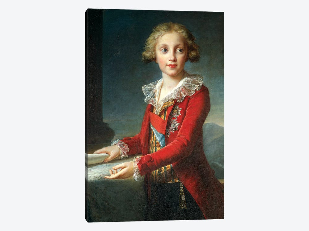 Portrait Of Francis I Of The Two Sicilies (Francis Of Bourbon), c.1790 1-piece Canvas Art