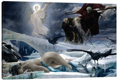 Ahasuerus At The End Of The World Canvas Art Print