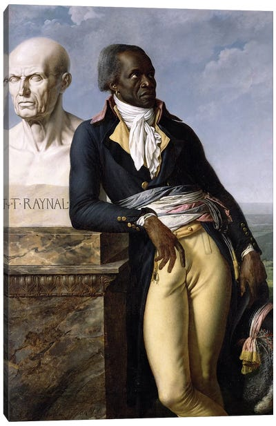 Portrait Of Jean-Baptiste Belley Canvas Art Print