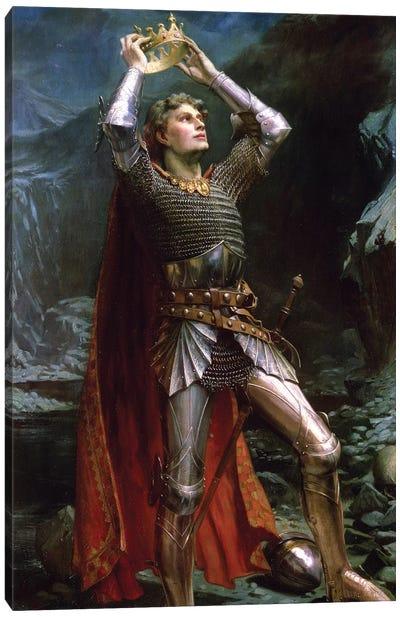 King Arthur, 1903 Canvas Art Print