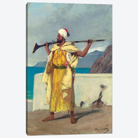 The Watchful Guard Canvas Print #BMN7706} by Jean Joseph Benjamin Constant Canvas Art