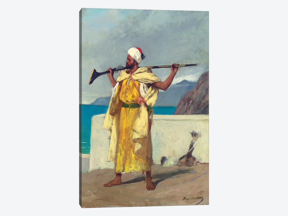 The Watchful Guard by Jean Joseph Benjamin Constant 1-piece Canvas Wall Art