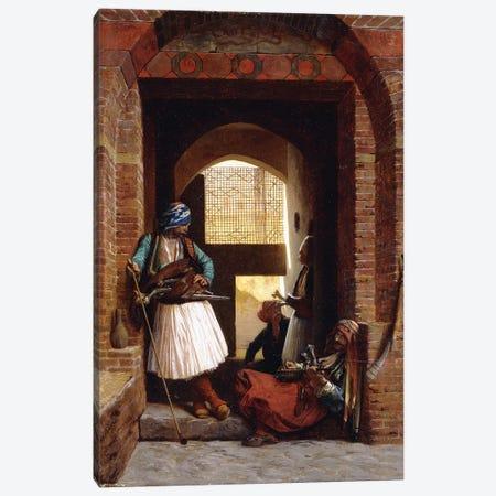 Arnaut Bodyguards In Cairo, 1861 Canvas Print #BMN7709} by Jean Leon Gerome Art Print