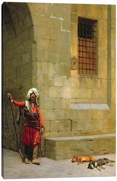 Arnaut et Chiens, C.1879 Canvas Art Print