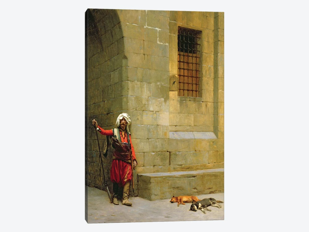 Arnaut et Chiens, C.1879 by Jean Leon Gerome 1-piece Art Print