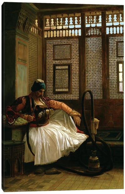 Arnaut Smoking Canvas Art Print