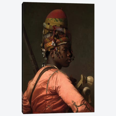 Bashi-Bazouk, 1868-69 Canvas Print #BMN7713} by Jean Leon Gerome Canvas Wall Art