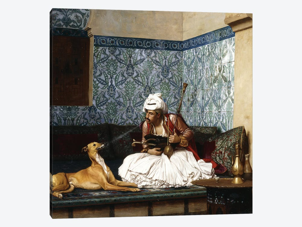 Just A Bit Of Fun by Jean Leon Gerome 1-piece Art Print