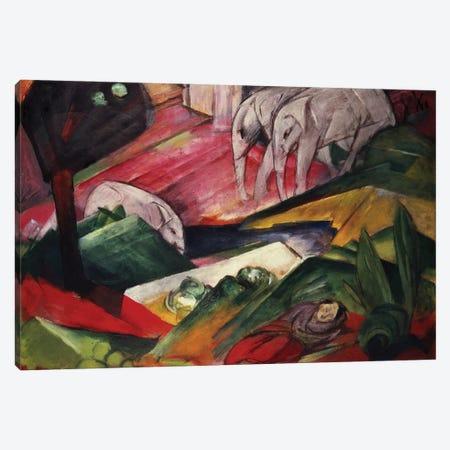 The Dream Canvas Print #BMN771} by Franz Marc Canvas Art