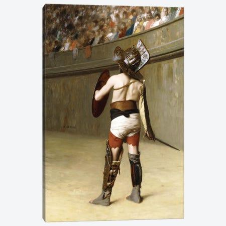 Mirmillon - A Gallic Gladiator Canvas Print #BMN7720} by Jean Leon Gerome Canvas Art Print