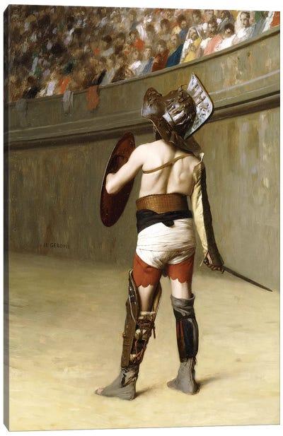 Mirmillon - A Gallic Gladiator Canvas Art Print