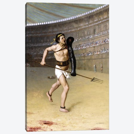 Retarius Canvas Print #BMN7724} by Jean Leon Gerome Canvas Art