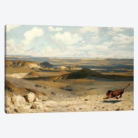 The Pursuit (Le Poursuite), 1889 Canvas Print #BMN7729} by Jean Leon Gerome Canvas Art Print