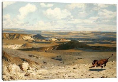 The Pursuit (Le Poursuite), 1889 Canvas Art Print