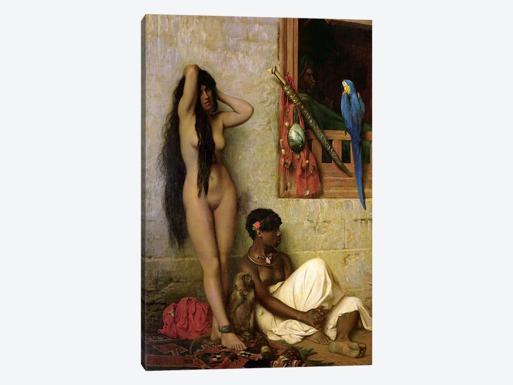 The Slave For Sale, 1873 by Jean Leon Gerome 1-piece Canvas Art