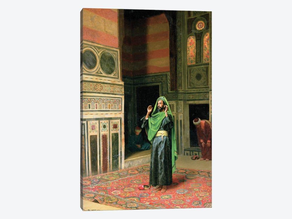 In The Mosque by Ludwig Deutsch 1-piece Art Print
