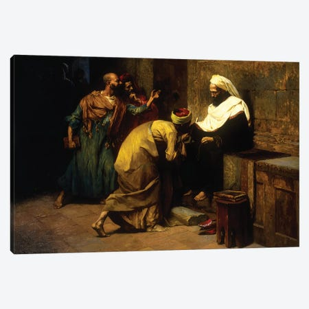 Le Maître, 1907 3-Piece Canvas #BMN7737} by Ludwig Deutsch Art Print