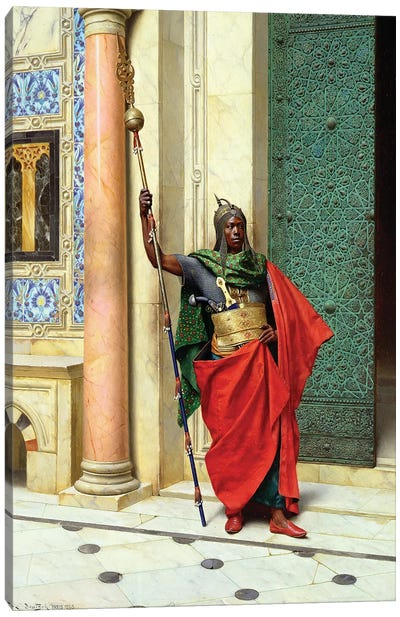 On Guard Canvas Art Print